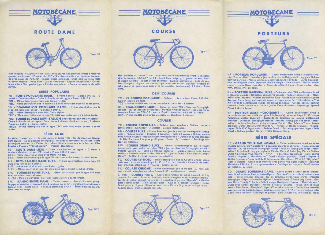 Motobécane col de cygne 1930-39 - Page 2 Cat-cycles-1939-002